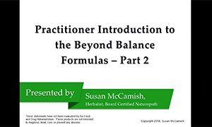 Practitioner Introduction to the Beyond Balance Formulas