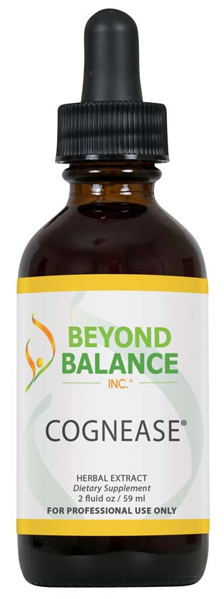 Bottle of COGNEASE® drops from Beyond Balance®