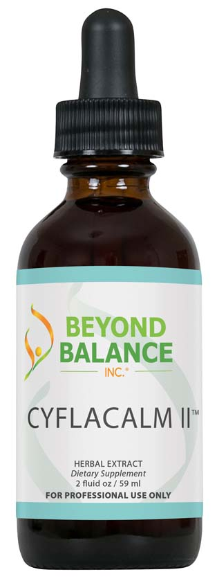 Bottle of CYFLACALM II™ drops from Beyond Balance®