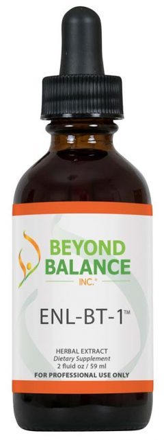 Bottle of ENL-BT-1™ drops from Beyond Balance®