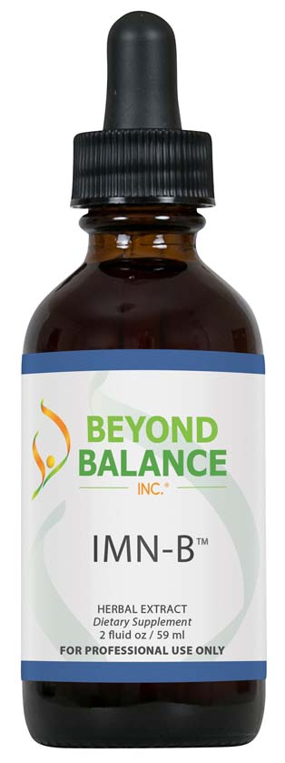 Bottle of IMN-B™ drops from Beyond Balance®