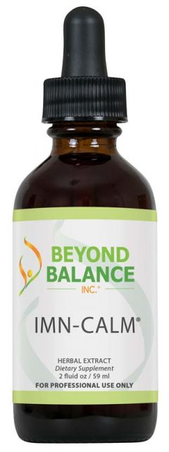 Bottle of IMN-CALM® drops from Beyond Balance®