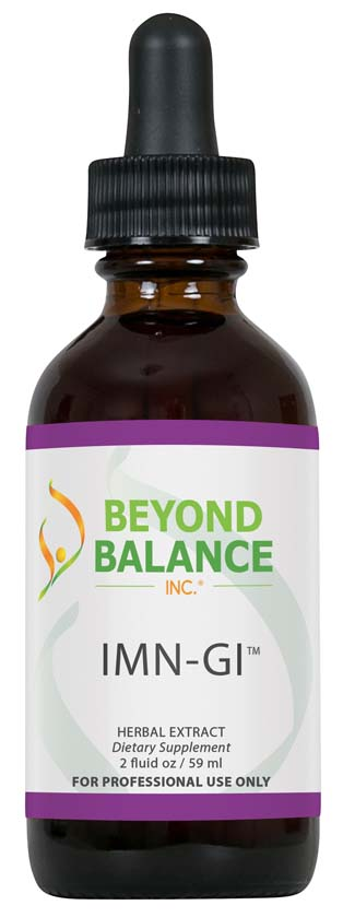 Bottle of IMN-GI™ drops from Beyond Balance®
