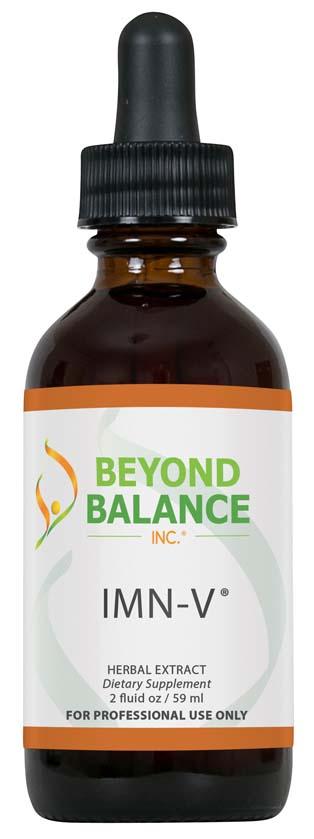 Bottle of IMN-V® drops from Beyond Balance®
