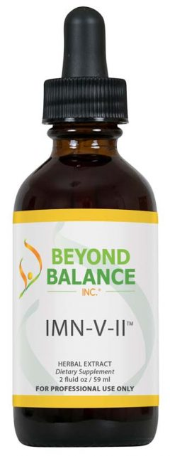 Bottle of IMN-V-II™ drops from Beyond Balance®