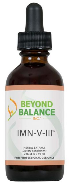 Bottle of IMN-V-III™ drops from Beyond Balance®