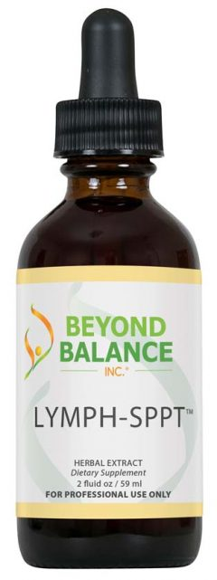 Bottle of LYMPH-SPPT™ drops from Beyond Balance®