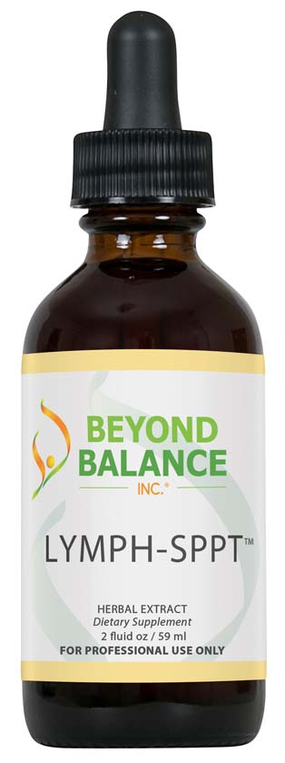 Bottle of LYMPH-SPPT™ drops from Beyond Balance®