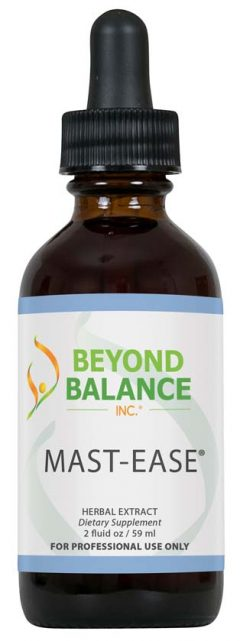 Bottle of MAST-EASE® drops from Beyond Balance®