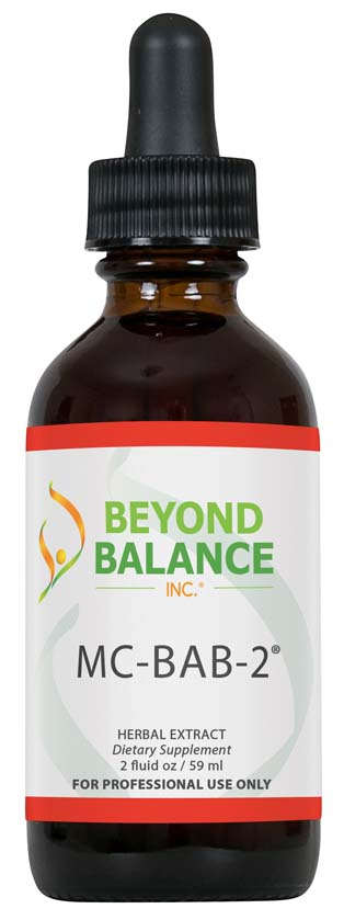 Bottle of MC-BAB-2® drops from Beyond Balance®