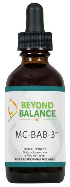 Bottle of MC-BAB-3™ drops from Beyond Balance®
