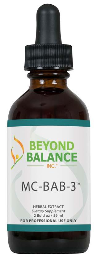 Bottle of MC-BAB-3™ drops from Beyond Balance®