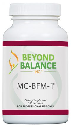 Bottle of MC-BFM-1® capsules from Beyond Balance®