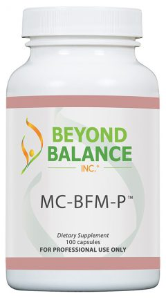 Bottle of MC-BFM-P™ capsules from Beyond Balance®