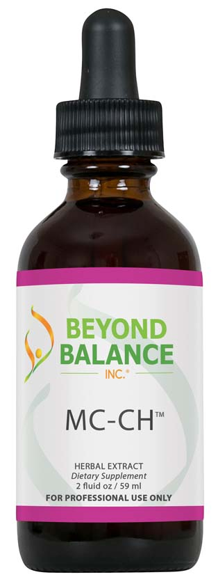 Bottle of MC-CH™ drops from Beyond Balance®