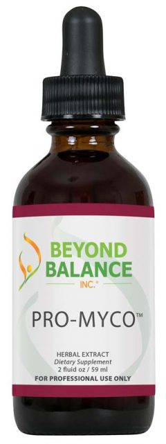 Bottle of PRO-MYCO™ drops from Beyond Balance®