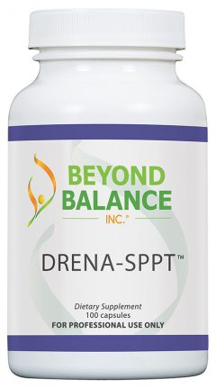 Bottle of DRENA-SPPT™ capsules from Beyond Balance®