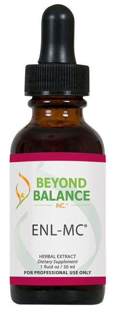 Bottle of ENL-MC® drops from Beyond Balance®