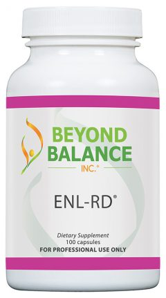 Bottle of ENL-RD® capsules from Beyond Balance®