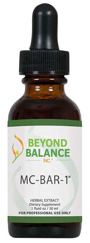 Bottle of MC-BAR-1® drops from Beyond Balance®