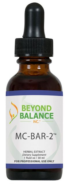 Bottle of MC-BAR-2™ drops from Beyond Balance®