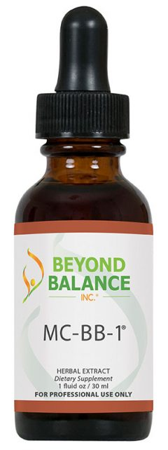 Bottle of MC-BB-1® drops from Beyond Balance®