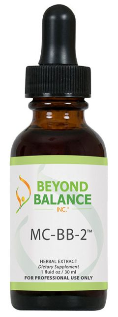 Bottle of MC-BB-2™ drops from Beyond Balance®