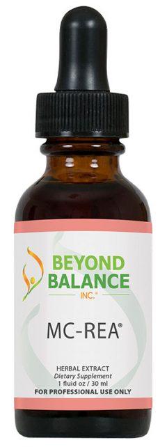 Bottle of MC-REA® drops from Beyond Balance®