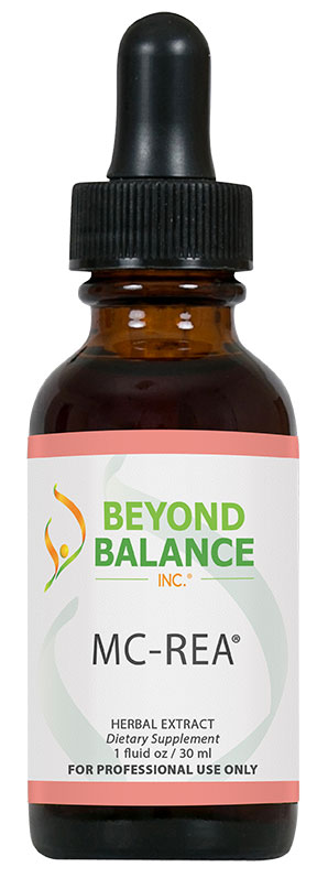 Bottle of MC-REA® drops from Beyond Balance®