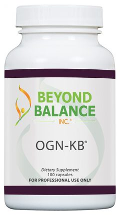Bottle of OGN-KB® capsules from Beyond Balance®