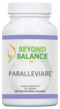 Bottle of PARALLEVIARE® capsules from Beyond Balance®