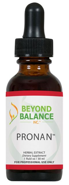 Bottle of PRONAN™ drops from Beyond Balance®
