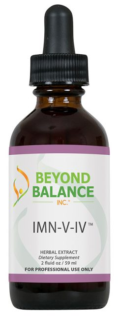 Bottle of IMN-V-IV™ drops from Beyond Balance®